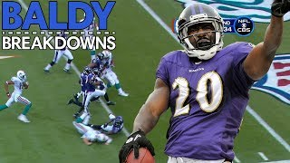Dissecting Ed Reed's Most Iconic Interceptions | Baldy Breakdowns
