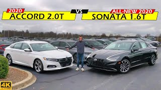 NEW MIDSIZE KING?? -- 2020 Hyundai Sonata vs. 2020 Honda Accord: Comparison