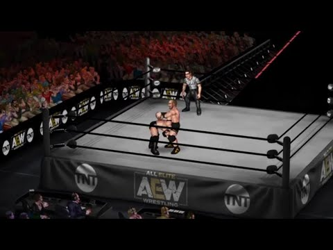 Jon Moxley vs PAC - AEW Dynamite [Fire Pro Wrestling World]