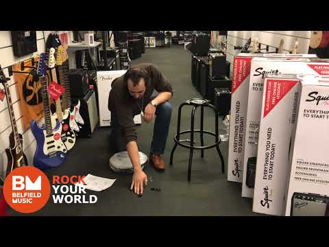 How to Setup a Guitar Stool - Daniel @ Belfield Music