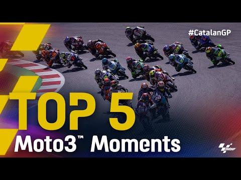 Moto3 2021 カタルニアGP 決勝レースのハイライト動画