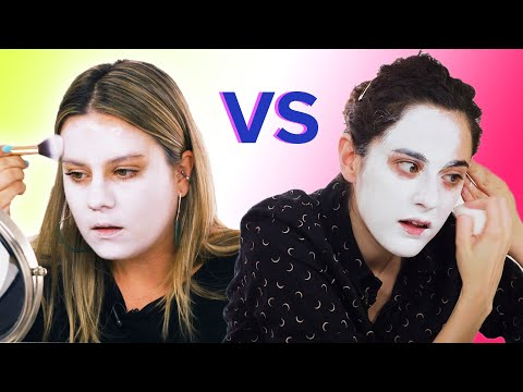 Artist Vs. Makeup Artist: Makeup Challenge