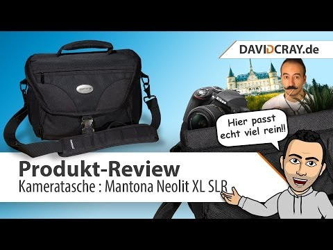 [HD] Produkt-Review : Kameratasche Mantona Neolit XL SLR [deutsch]
