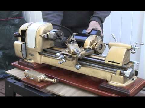 metal lathe making a wooden vise lathe taper attachment 2