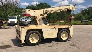 Terex D851 Industrial Carry Deck Crane