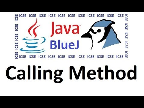 Calling Parametrised Method In Java Using BlueJ