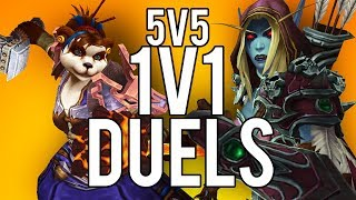 BFA 5V5 1V1 DUELS! - WoW: Battle For Azeroth (Livestream)
