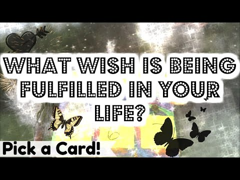 ✨WHAT WISH IS BEING FULFILLED RIGHT NOW?!✨*PICK A CARD* LOVE? CAREER? WHAT PRAYER HAS BEEN ANSWERED?