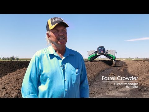 CUSTOMER STORY: Humalfa Finds the Compost Turner To Meet Their Needs
