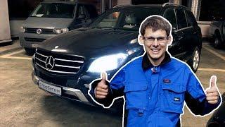 Я бы взял ! Mercedes ML m276 мотор!