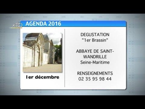 Agenda du 18 novembre 2016