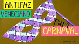 Máscaras y Disfraces para Carnaval, Antifaz o Máscara Veneciana