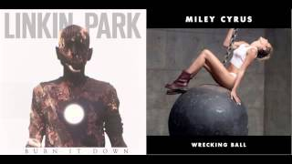 Wrecking It Down (mashup) - Linkin Park vs Miley Cyrus
