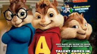 "Chipmunks singing ""Killa"" by Cherish feat Yung Joc"