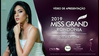 Gisele Cristina Carlos Silva Miss Grand Rondonia 2019 Presentation Video