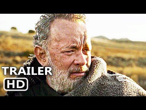 NEWS OF THE WORLD Trailer 2 (2020) Tom Hanks, Western Movie HD