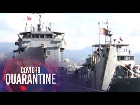 [ABS-CBN]  77 miyembro ng Naval Forces Central sa Lapulapu, positibo sa COVID-19 | Teleradyo