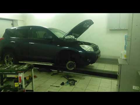 Toyota Rav4 Безразборное Восстановление Рулевой Рейки