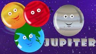 Gambar cover planet Lagu   belajar planet   lagu pendidikan   sajak untuk anak-anak   Kids Songs   Planets Song