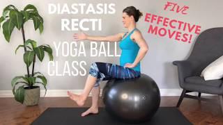 "How To Heal Your Diastasis Recti or ""Mummy Tummy"" Using Your Yoga Ball"