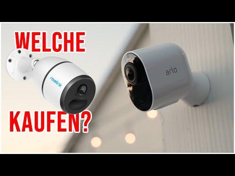 KABELLOSE Überwachungskamera Test & Kaufberatung Outdoor Außen Akku WLAN & LTE Kamera