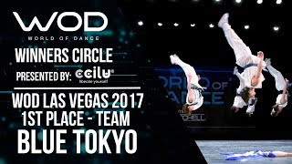 Blue Tokyo | 1st Place Team | Winners Circle | World of Dance Las Vegas 2017 | #WODLV17