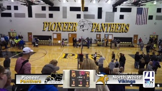 Volleyball Sectional Pioneer vs North White
