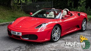 2005 Ferrari F430 Spider First Drive - Is the Last Manual V8 Ferrari Worth It?