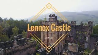 Abandoned Mental Asylum Lennox Castle Drone Video (4K)