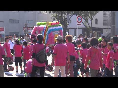 第58回名古屋まつり 子供会みこしパレード 引山小学校(名