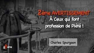 2ème AVERTISSEMENT POUR CEUX QUI FONT PROFESSION DE PIÉTÉ