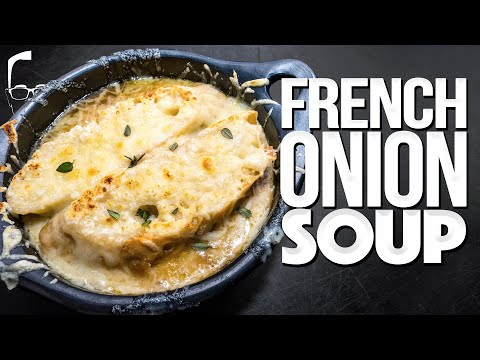 FRENCH ONION SOUP AT HOME (THE ULTIMATE COMFORT FOOD?) | SAM THE COOKING GUY