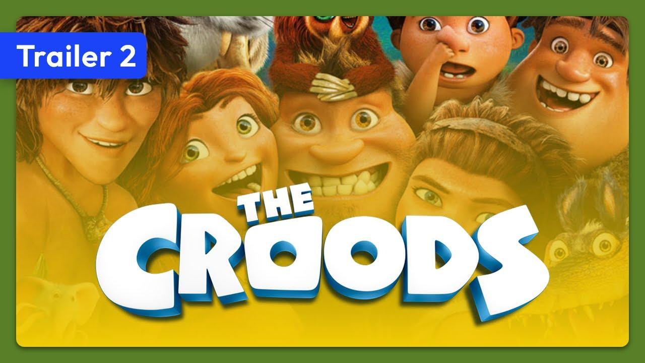 Trailer för Croodarna