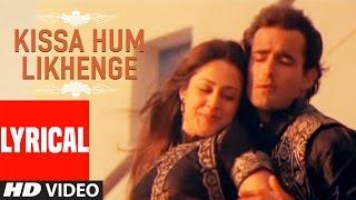 Kissa Hum Likhenge Lyrical Video   Doli Saja Ke   - YouTube