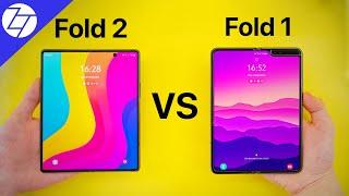 Samsung Galaxy Z Fold2 5G vs Samsung Galaxy Fold 5G - Unboxing & First Impressions!