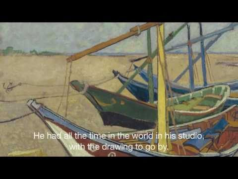 Vincent van Gogh in Arles: Two seascapes - Les Saintes-Maries-de-la-Mer