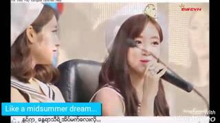 [Eng/Myanmar]SUB  Summer Love Eunyeon Version
