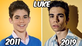Disney Channel Famous Boys Stars Before and After 2019