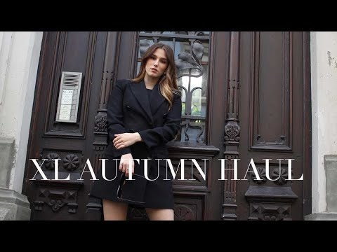 XL AUTUMN HAUL 2019 | ZARA, H&M, LOUIS VUITTON | Laura Spiessmacher