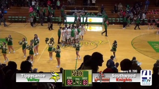 Tippecanoe Valley Boys Basketball vs Southwood
