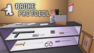Broke Protocol - GTA V Meets Unturned! - Let's Play Broke Protocol Gameplay - Alpha Demo