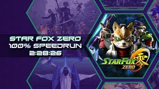 Star Fox Zero 100% Speedrun