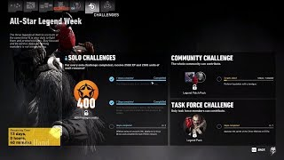 Ghost Recon Wildlands All Star Legend Week Predator REAL Solo and Yeti