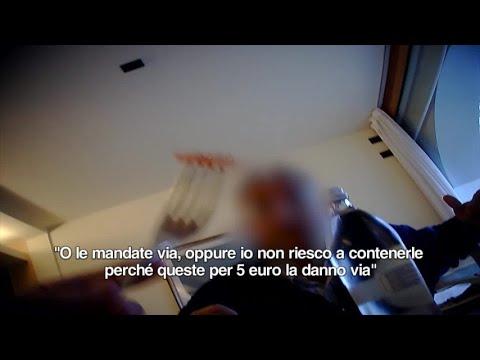 Violenza video di presa in giro del sesso