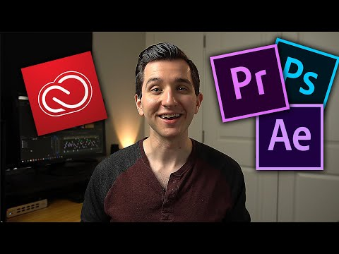 How To SAVE MONEY On Adobe Software/Creative Cloud   (Premiere Pro, Photoshop, Lightroom etc.)