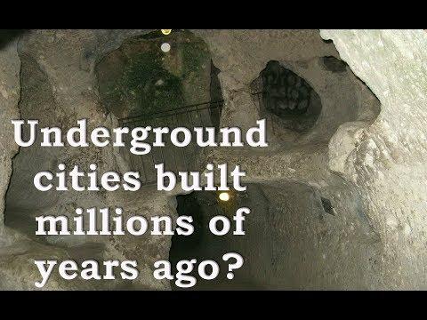 "Alexander Koltypin ""Cappadocia-underground cities built when we were monkeys?"""