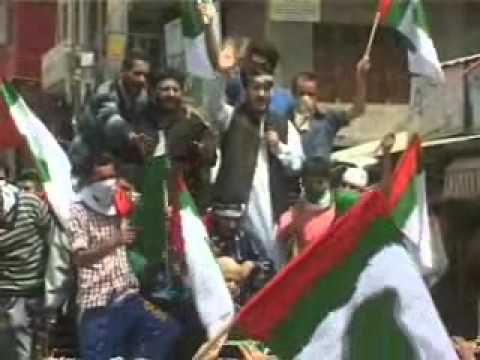 Pak flags in Shah' s rally