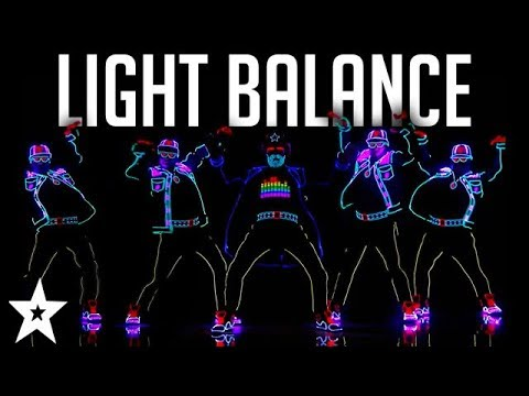 Light Balance FINALIST | ALL Performances | America's Got Talent 2017 Mp3