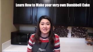 Make your Dumbbell Cake