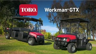 Toro Workma GTX Utility Vehicles